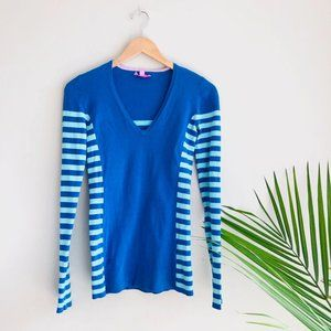 Lilly Pulitzer Adelaide Striped Pullover Sweater